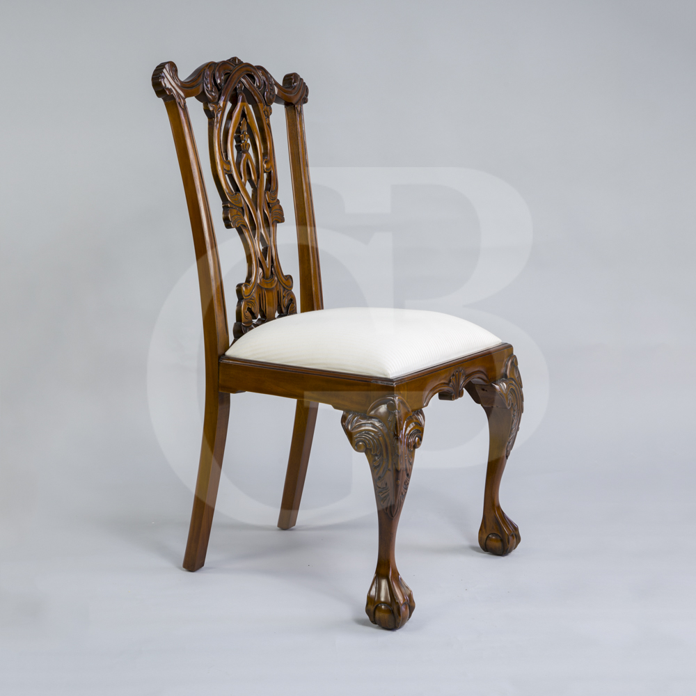 Four New Solid Mahogany Chippendale Style Dining Chairs  : productimage117210135331 from www.ebay.co.uk size 1000 x 1000 jpeg 346kB